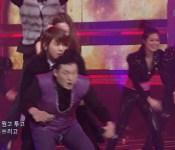 PSY has a Wardrobe Malfunction on Inkigayo