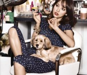 Lee Hyori heats up the pages of Singles