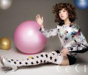 Kim Ji Won for Ceci November