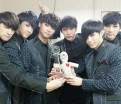 VIXX Wins First #1 Trophy on Music Bank