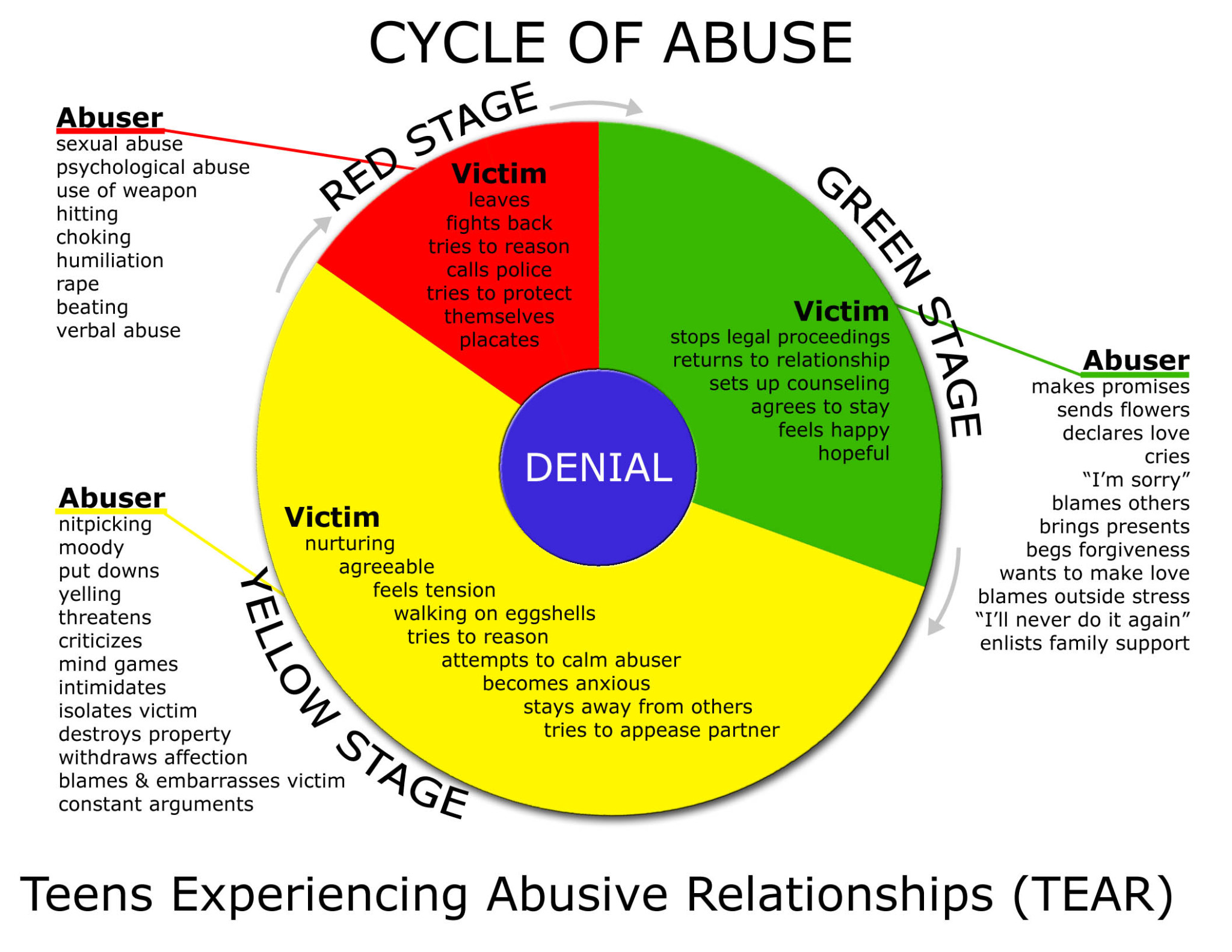 cycle of domestic violence pdf