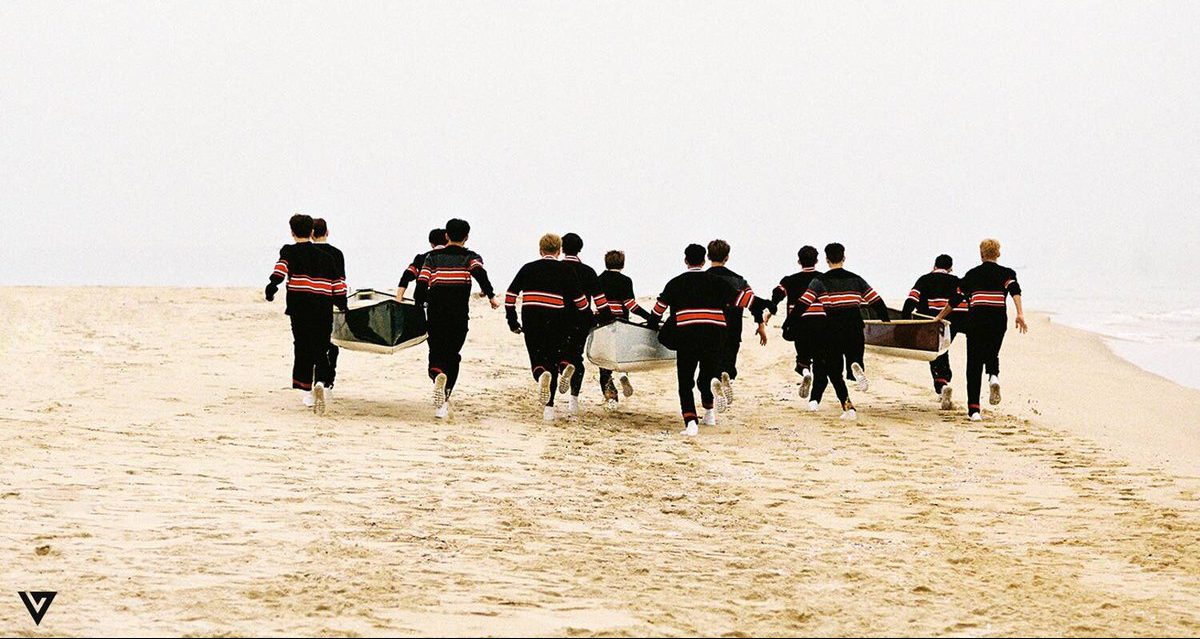 "Seventeen Continues to Grow with ""Going Seventeen"""