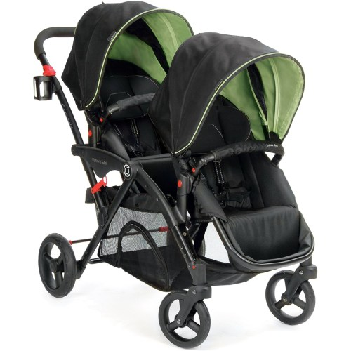 Medium Crop Of Contours Double Stroller