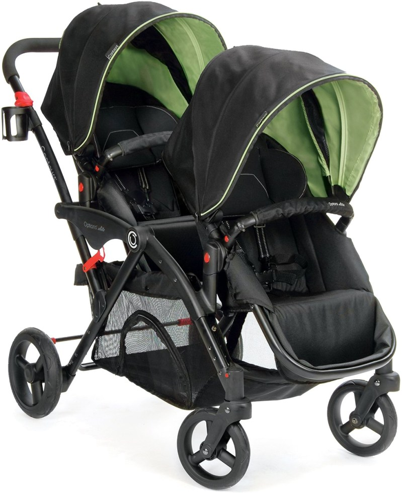 Large Of Contours Double Stroller