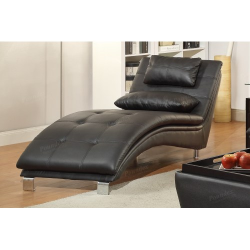Medium Crop Of Leather Chaise Lounge