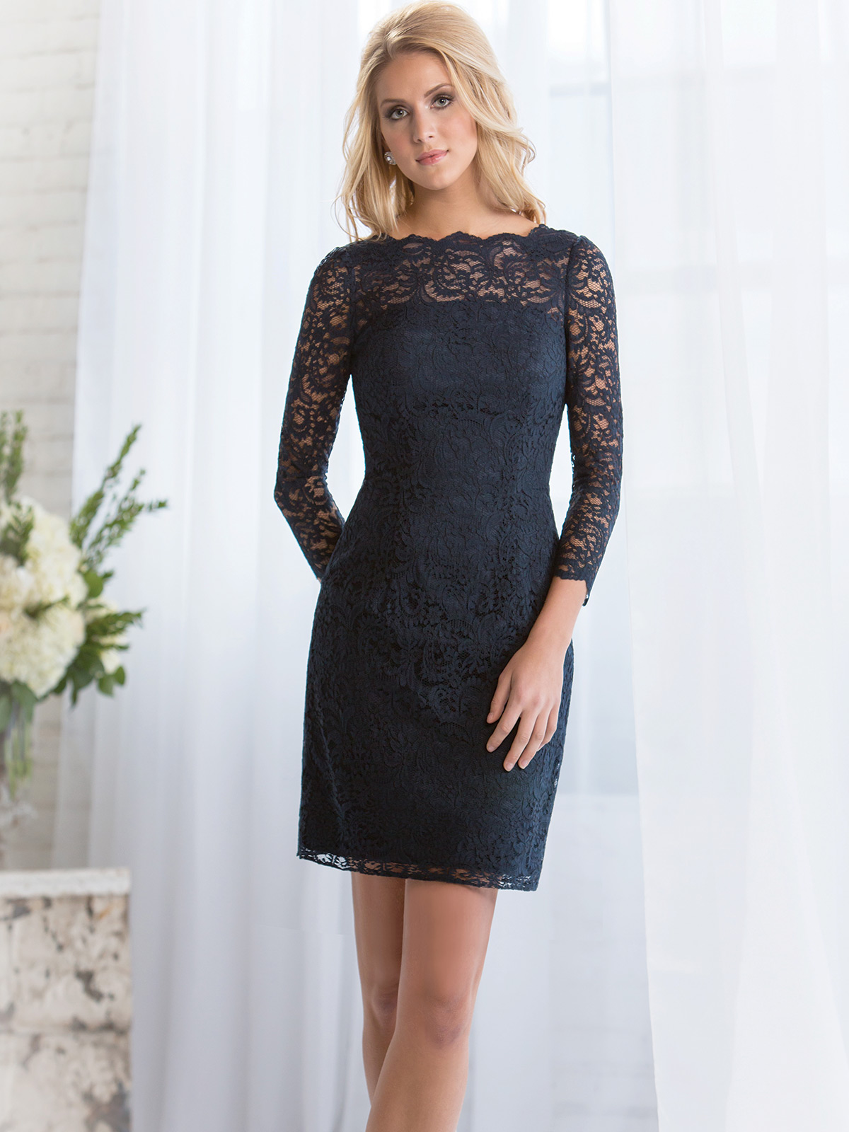 Showy Long Sleeves Lace Belsoie Dress By Jasmine Belsoie Bridesmaid Dress Long Sleeve Bridesmaid Dresses Wine Long Sleeve Bridesmaid Dresses Blue wedding dress Long Sleeve Bridesmaid Dresses