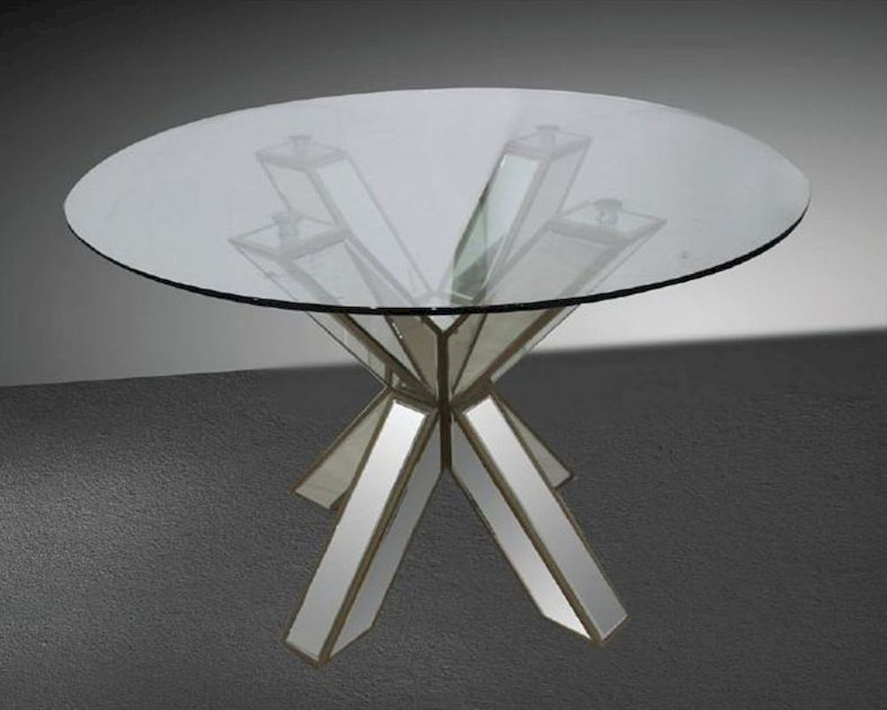 Fullsize Of Round Glass Dining Table