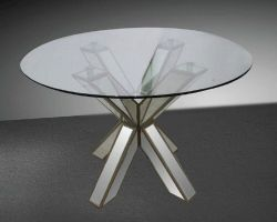Small Of Round Glass Dining Table