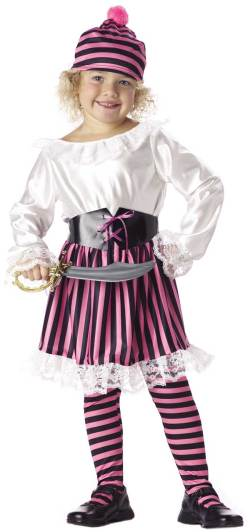 Small Of Girl Pirate Costume