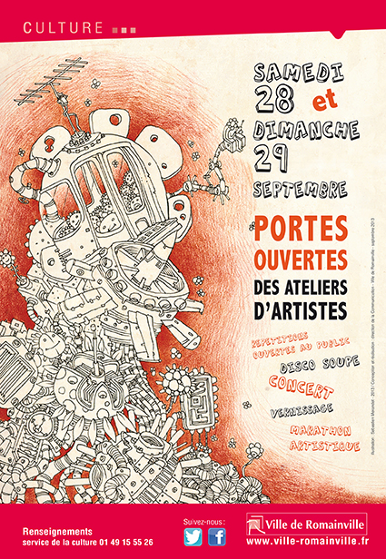 Portes ouvertes des Ateliers d'artistes de Romainville