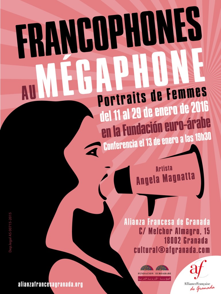 Conférences & Expo // Francophones au mégaphone // Fondation Euro-Arabe de Grenade