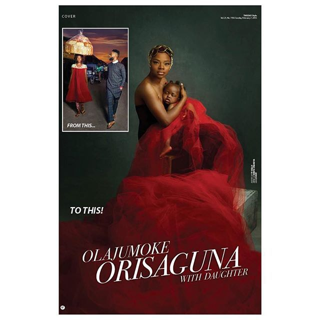 Agege Bread Seller TY Bello Discovered Shares Her Touching Story As She Covers ThisDay Magazine's New Edition | PHOTOS