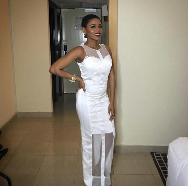 Dope Or Nope? Singer Chidinma's White Outfit To Ebuka and Cynthia's Wedding Yesterday Got Fans Talking | PHOTOS