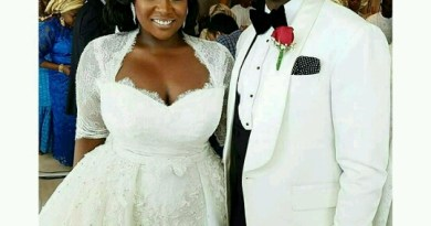 Yo! Here Is Toolz' Beautiful Wedding Gown -PHOTOS!