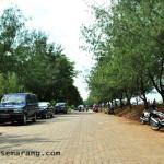 jalan utama taman