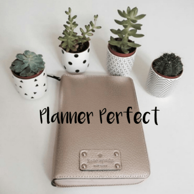 planner perfect header pic