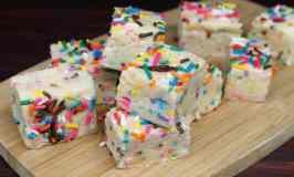 bday cake fudge sample #3e