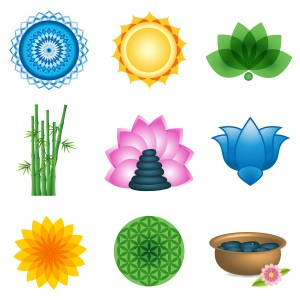 Spa Logo Elements & Icons