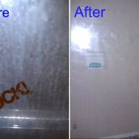 Keeping a Glass Shower Door Clean for 6+ Months