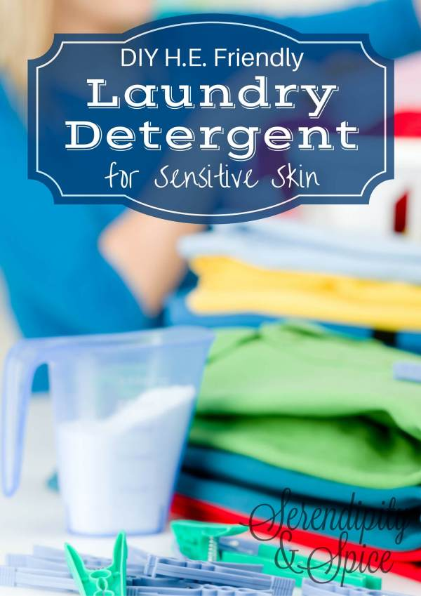 DIY HE Friendly Best Laundry Detergent Recipe