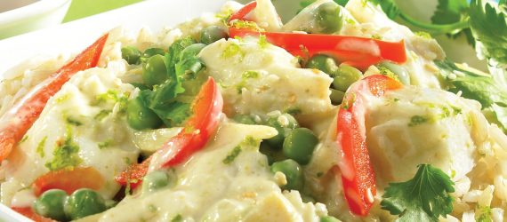 Thai Coconut Fish Curry Slow Cooker Recipe