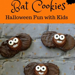 Boo-tiful Bat Halloween Cookies - Semi Homemade