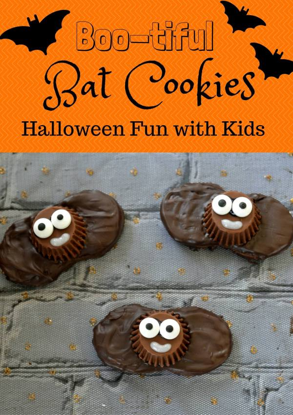 Boo-tiful Bat Halloween Cookies - Semi Homemade