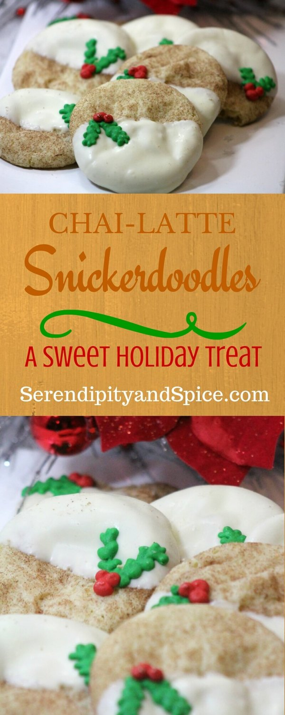 Chai Latte Snickerdoodle Cookie Recipe