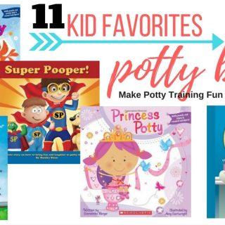 kids books about potty training books