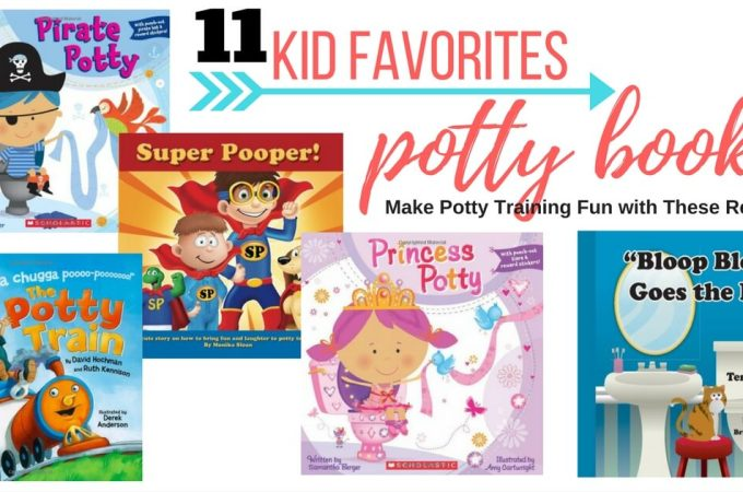 kids books about potty training books