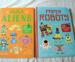 Paper Aliens and Paper Robots Review + Giveaway