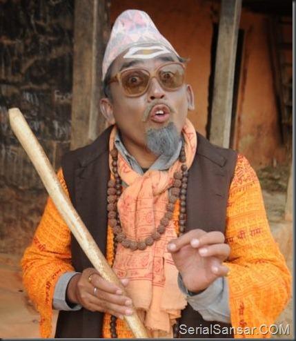 Dhurmus - Sitaram Kattel's four different roles in Meri Bassai