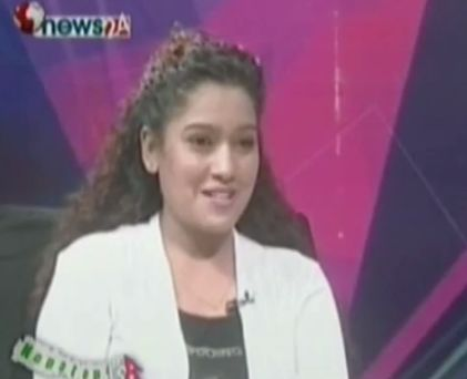 Interview of Kunjana Ghimire (Suntali) about Earthquake relief works