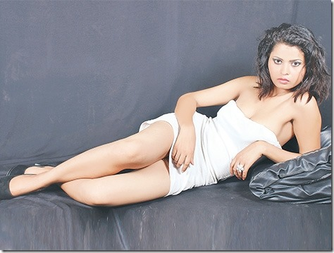 Manjila Chaudhary, Tharu actress and model