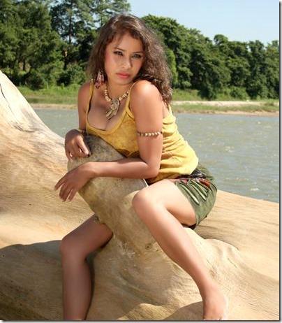 Nita Pokharel - Nepali actress in Model Monday