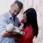 Malvika Subba gave birth to a son