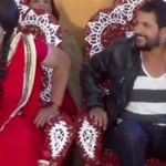 Rajesh Hamal dance in a Teej song, in woman's appearance