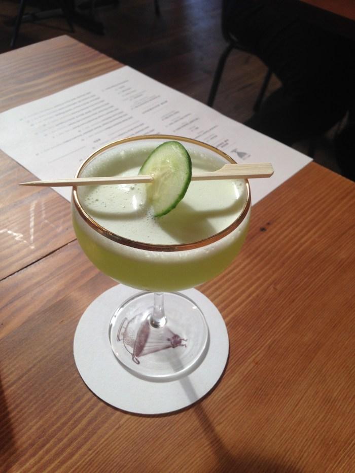 P.D.T cocktail at Renata | Summer Eats |Serious Crust by Annie Fassler