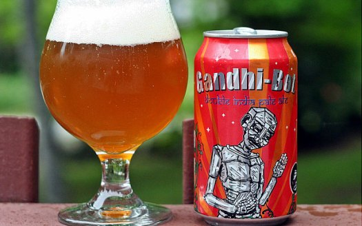 The New England Brewery Company said it was sorry if it had offended anyone by using Gandhi's name and image for its 'Gandhi-Bot' India Pale Ale and hopes that anyone who is offended doesn't miss any meals over it.