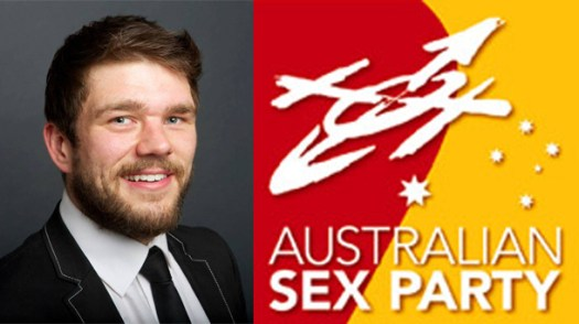 Stay strong, Australian Sex Party. If not for us, stay strong for Australian Chris Pratt.