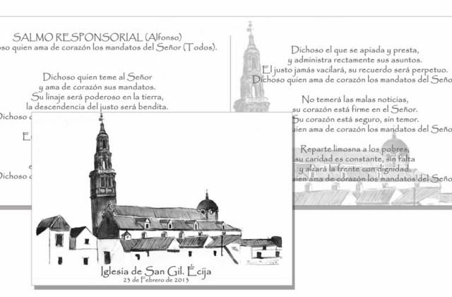 Misal con apunte natural. Iglesia de San Gil (Écija)