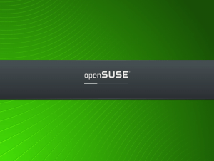 openSuse 11.1 - Boot up screen