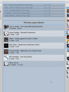 Amarok 2.3.2 finds more albums when you tell it to!