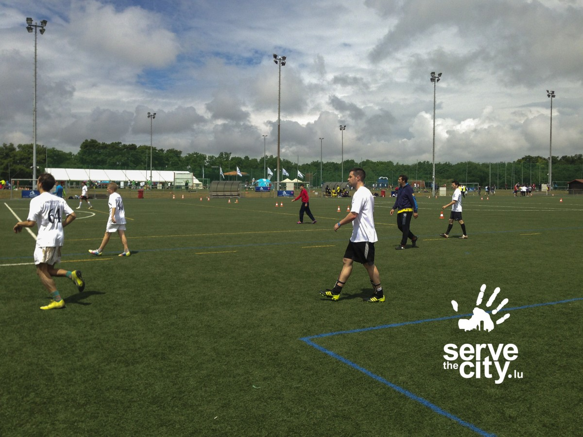 """Join Serve the City at """"Rencontres Sans Frontieres"""" Football Tournament"""