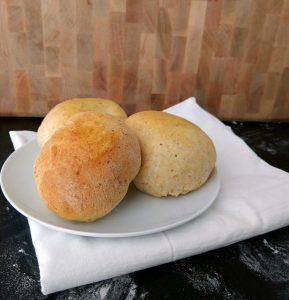 Buttery crispy hamburger bun deliciousness