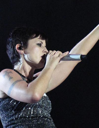 Dolores O'Riordan - The Cranberries - show em Florianópolis