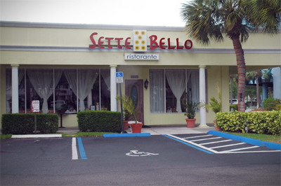 SetteBelloEntrance