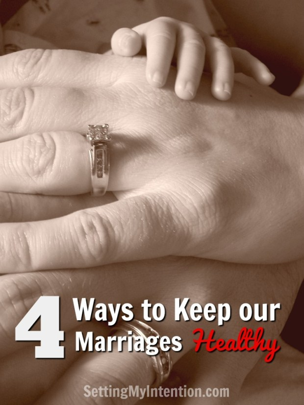 Keep our marriages healthy