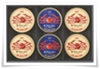 セブンイレブンのお中元カタログから!喜ばれるギフトランキング!紅ずわいがにほぐし身6缶セット
