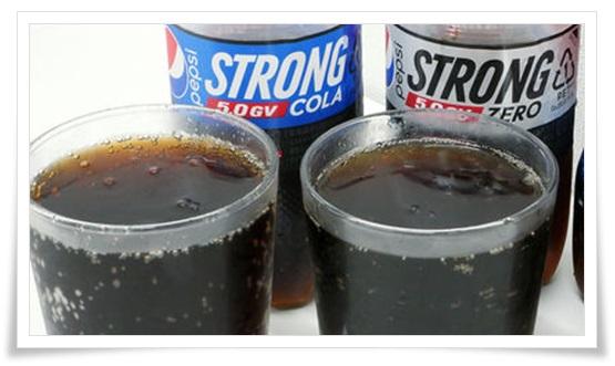ペプシストロング5.0gvの口コミは変な味?カロリー0でも糖質で太る?4